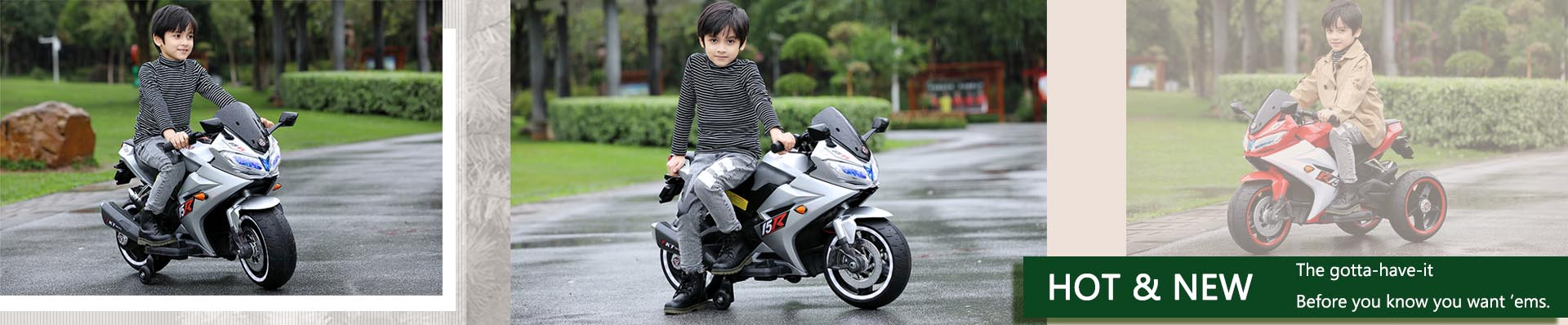 Kids electrical motorbike